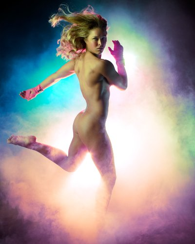 Ronda Rousey Poster Photo Limited Print UFC Fighter Sexy Naked Nude Celebrity Athlete Size 22x28 #1