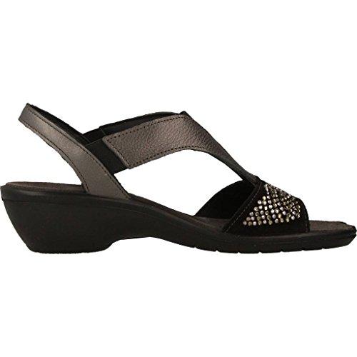 Sandalias y chanclas para mujer, color Negro , marca IMAC, modelo Sandalias Y Chanclas Para Mujer IMAC 72991I Negro