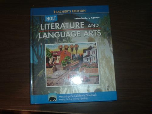 Download Introductory Course Literature and Language Arts (Teacher's Edition) pdf