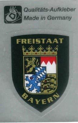 Pvc Aufkleber Freistaat Bayern Gr Ca 3 X 5 Cm 301515 2 Baby