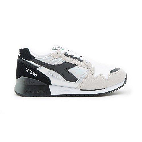 Diadora A Bianco Basso 4000 Nero Collo Sneaker Adulto – Unisex Ic Hologram ZIrqFIx