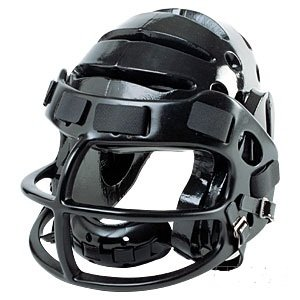 ProForce® Lightning Helmet with Faceguard - Black - size Medium by Pro Force