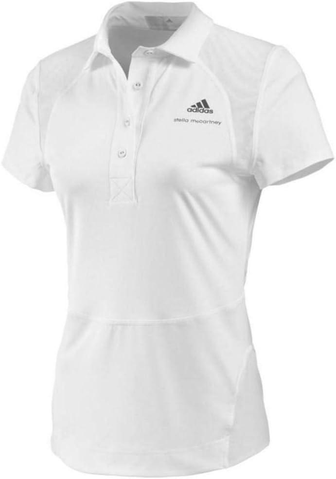 adidas Performance Womens Stella McCartney Q3 Sports Training Tennis Dress White