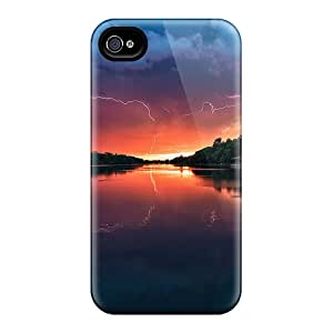 Hot LNP16592ynUx Cases Covers Protector For Iphone 6- Thunder Sky