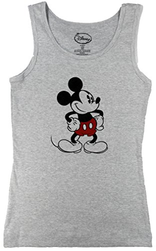 Disney Womens Retro Old School Mickey Mouse Tank Top (Extra Large 15/17, ()
