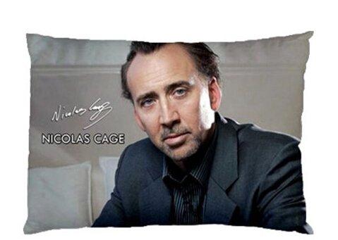 Amazon.com: Custom Nicolas Cage Funda Cojín Funda de ...