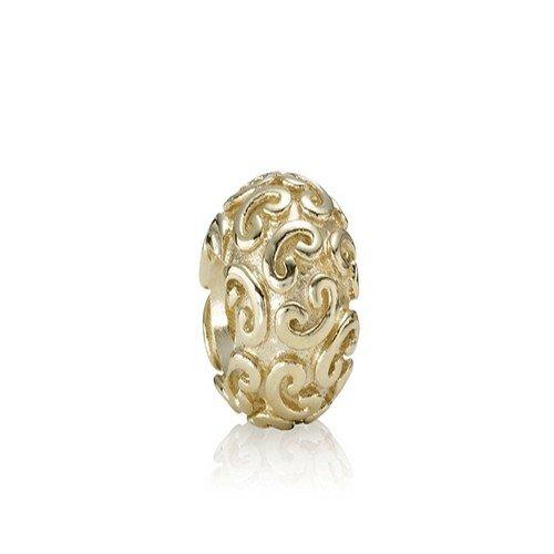 Pandora - 75421 - Drops Femme - Coeur - Or jaune 14 carats (585)