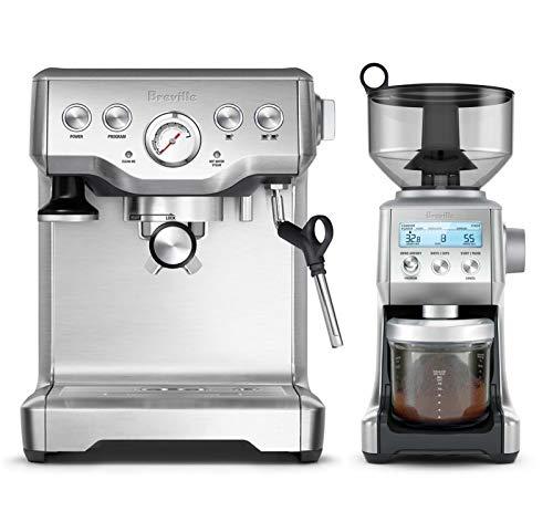 - Breville BES840XL Infuser Espresso Machine Bundle with Breville BCG820BSS Smart Grinder Pro - Stainless Steel