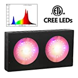 MEIZHI 600W CREE LED Grow Light,COB Plants Growing Lamps with Daisy Chain Full Spectrum for Indoor Greenhouse Veg Flower, High PPFD Replaced 600W 1000W HPS & Other Brands Red Blue 1000W 1200W Lights