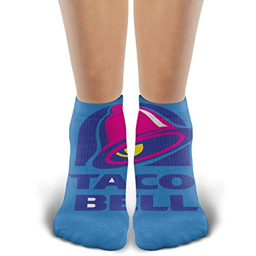 TYDJL Majestic Bell with Taco Sports Outdoor Casual Cotton Stitching Soft and Comfortable Socks for Men and Women