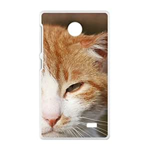 Arrogent Cat Kitty White Phone Case for Nokia Lumia X