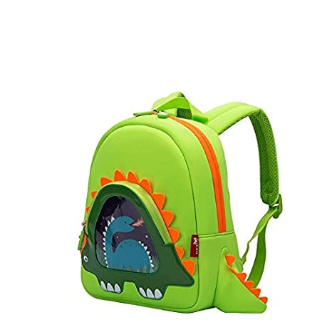 OFUN Dinosaur Backpack, Toddler Backpack for Boys, Dinosaur Bookbag Dino Backpack