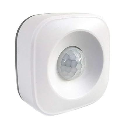 Babysbreath17 Interruptor del Sensor del Cuerpo Humano WiFi Infrarrojos PIR Sensor de Movimiento del Detector Delgado