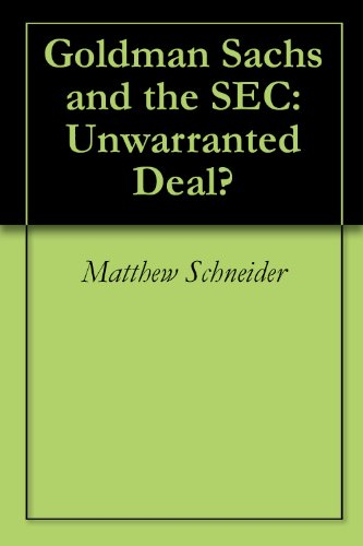 goldman-sachs-and-the-sec-unwarranted-deal