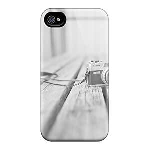 Hot TjTWD13422TWxpX Case Cover Protector For Iphone 4/4s- Old Camera