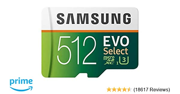 Amazon carte micro sd 512 go
