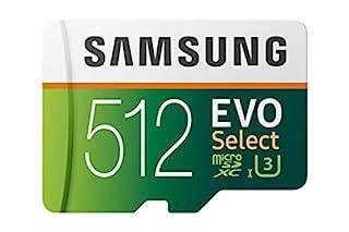 Samsung 512GB 100MB/s (U3) MicroSDXC Evo Select Memory Card with Adapter (MB-ME512GA/AM) (B07MKSGZM6) | Amazon price tracker / tracking, Amazon price history charts, Amazon price watches, Amazon price drop alerts