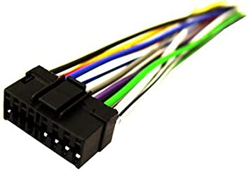 41yYVU7qIPL._SX355_ amazon com sony so 16 16 pin wire harness automotive sony wiring harness at crackthecode.co