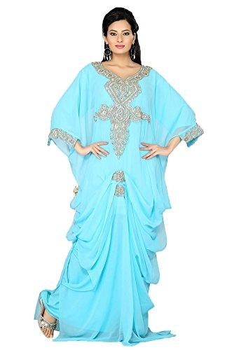Damen Dresses kkpf17206 Arabisch palasfashion Kaftan wqtRtT