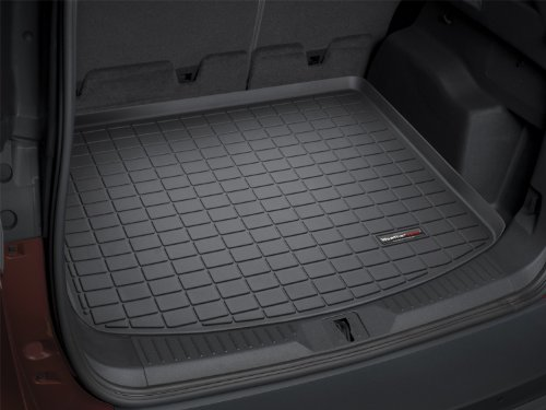 Tahoe Cargo Liner (WeatherTech Custom Fit Cargo Liners for Chevrolet Tahoe, Black - 40307)
