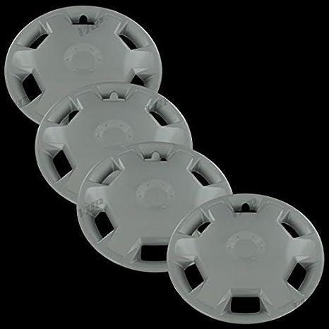 """Plata de Ley, 15 """"fundas para ruedas de tapa de buje para Nissan"""
