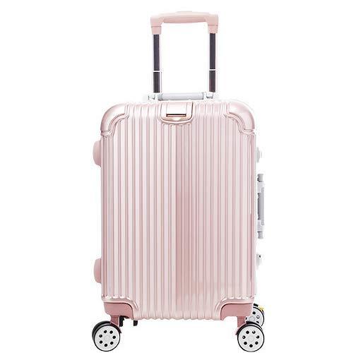MTkxsy トロリーケースは超軽量22インチ B07Q1WS64G ピンク