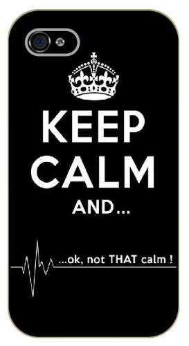 iPhone 5 / 5s Keep calm and... OK, not that calm, heart beat ...