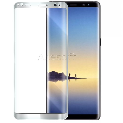 100% New Full Screen Coverage Wear-resisting Curved Tempered Glass Screen Protector Film for Samsung Galaxy Note 8 SM-N950U T-Mobile Android Phone by ReelWonder