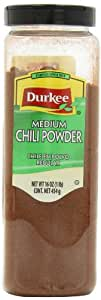 Durkee Chili Powder Medium, 16-Ounce Containers (Pack of 2)