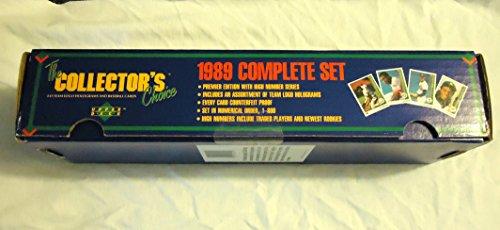 1989 Upper Deck Baseball Factory Set - Sports Memorabilia