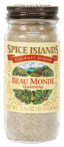 Spice Islands Beau Monde Seasoning, 3.5-Ounce (Pack of 3)