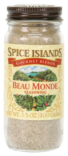 Spice Islands Beau Monde Seasoning, 3.5-Ounce (Pack of 3) (Pork Chops And French Onion Soup Mix)