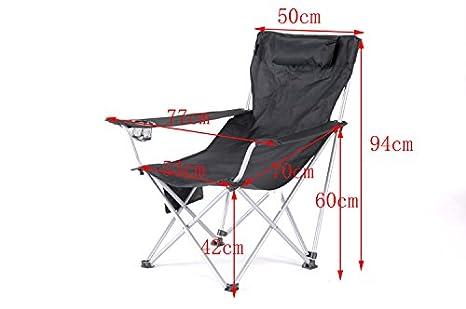 Lwjgsa alta liegestuehle un sedia pieghevole portatile picnic