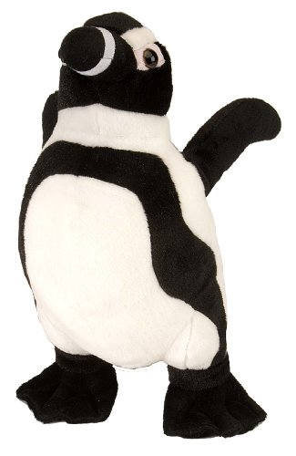"Wild Republic Cuddlekins 12"" Black Footed Penguin"