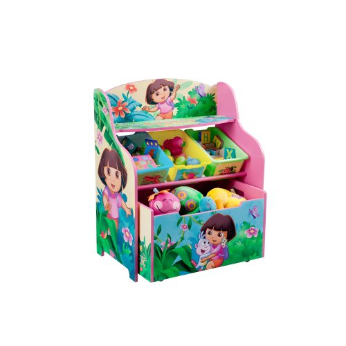 - Dora the Explorer 3 Tier Organizer with Rollout Toybox