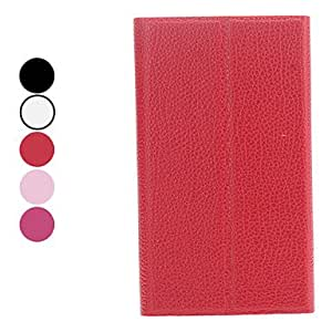 Litchi Grain Full Body Case with Stand for Samsung Galaxy I9080/I9082 (Assorted Colors) --- COLOR:Rose