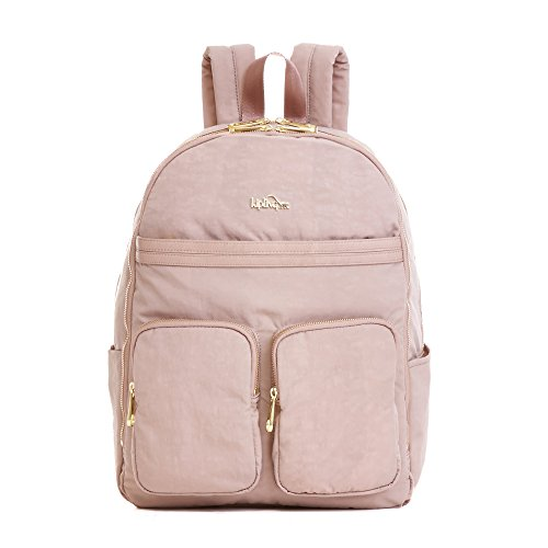 Kipling Women's Tina Large Laptop Backpack One Size Antique Rose Combo by Kipling