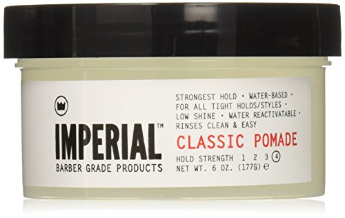 Imperial Barber Products Classic Pomade 6oz - 2 Pack