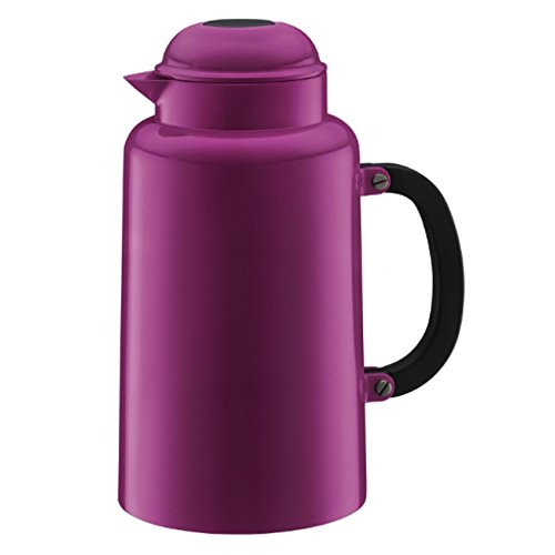 (Bodum Chambord 34-Ounce Thermo Double Wall Vacuum Carafe, Pink)