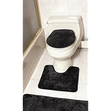 3 Pieces Bath Rug Sets
