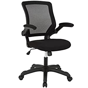 Amazon Com Modway Veer Office Chair With Mesh Back And