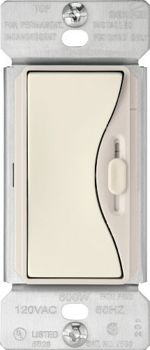 Fluorescent Preset Dimmer (Eaton 9573DS 3-Way 300-Watt Dimmable LED/Compact Fluorescent 600W Incandescent/Halogen Dimmer with Preset, Desert Sand by)