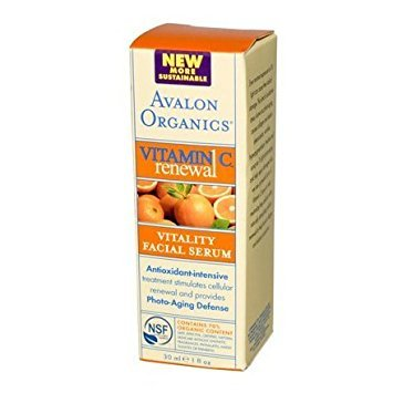 Avalon - Avalon Organics Vitality Facial Serum Vitamin C - 1 Fl Oz - (Pack of 1) - Pack Of - Organics Vitamin Vitality C Facial Avalon Serum