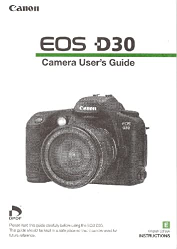 canon eos d30 instruction manual canon d30 instruction manual rh amazon com canon d10 manual canon eos d30 manual pdf