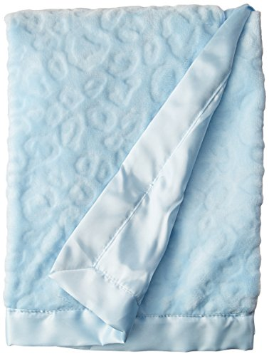 (Baby Starters Sculpted Micro Velour Blanket with Satin Applique, Thank Heaven for Little Boys)