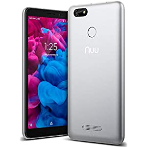 "41yYdjBkAoL. SS300 - NUU Mobile A5L Unlocked Cell Phone - 5.5"" Android Smartphone - Silver NUU Mobile A5L Unlocked Cell Phone – 5.5″ Android Smartphone – Silver 41yYdjBkAoL"