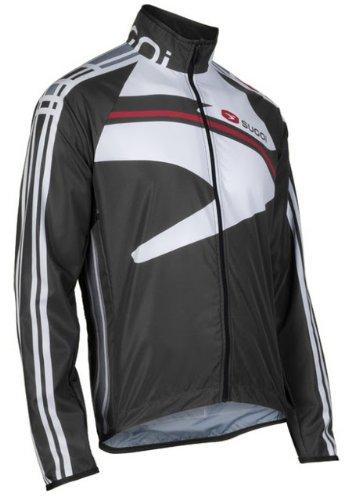 (SUGOi Men's Icon Shift Jacket (Black/White, Medium))