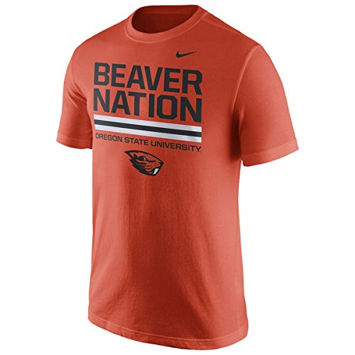 NIKE Oregon State Beavers Beaver Nation Local Verbiage T-Shirt (Small)