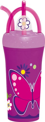 - Trudeau Flowers Fountain Tumbler