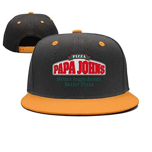 - iorty rtty Caps Adjustable Cool papa Loves Pizza Designer Trucker Hat